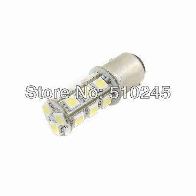 100x car led s25 ba15s p21W 1156 bay15d 1157 p21w/5w 18 led smd 5050 18smd led light bulb lamp WHITE RED YELLOW Free shipping
