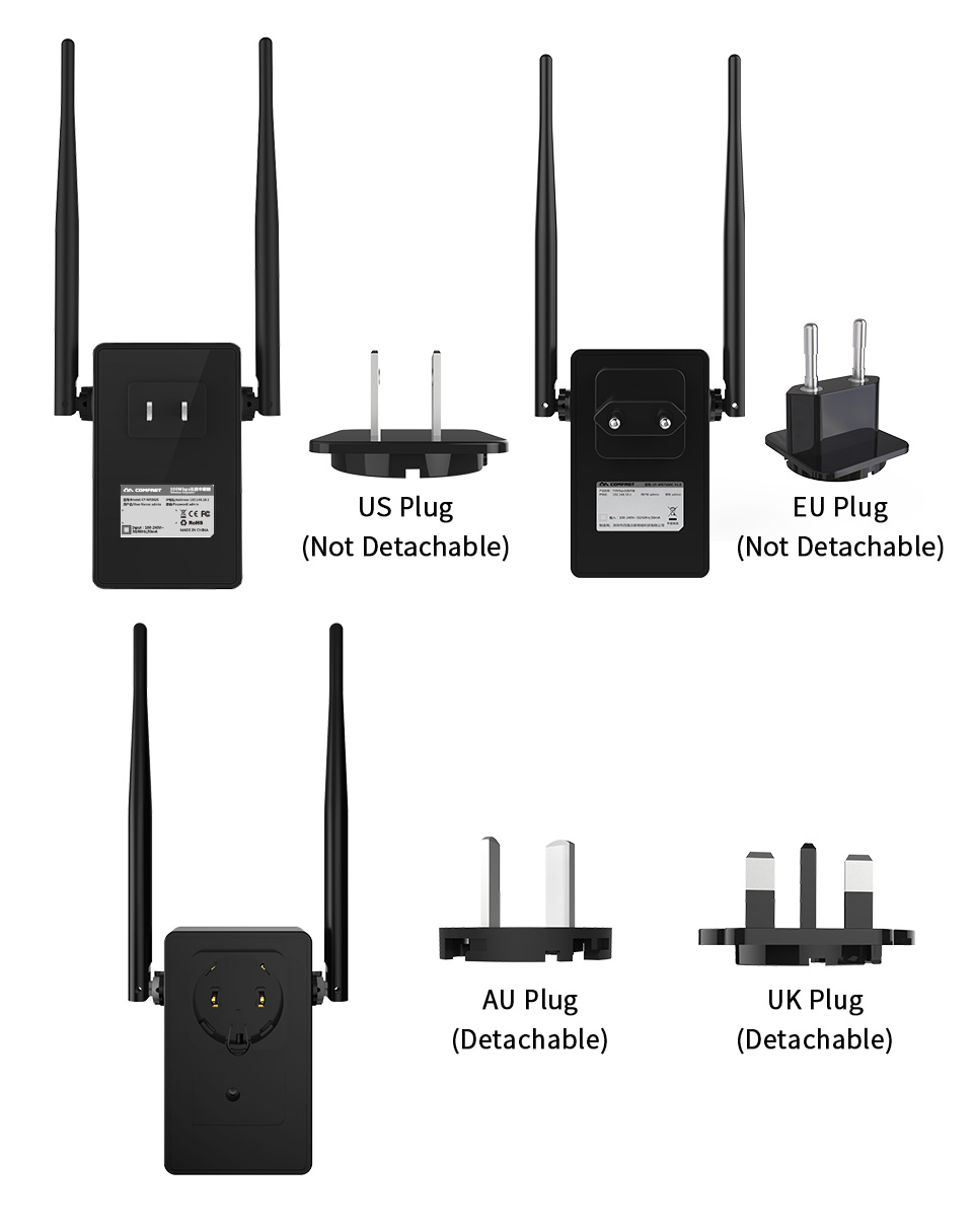 Computer & Office ... Networking ... 32380176100 ... 4 ... Comfast CF-WR302S Wireless WIFI Router Repeater 300M 10dBi Antenna Wi fi Signal Repeater 802.11N/B/G Roteador Wi-fi Rang Extende ...