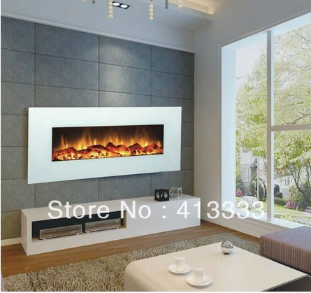Free Shipping To Lebanon White Fake Fireplace Wall In Electric