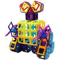 Pure magnetic chip building block cute size diy toy magnetic chip set assembles children's puzzle toys