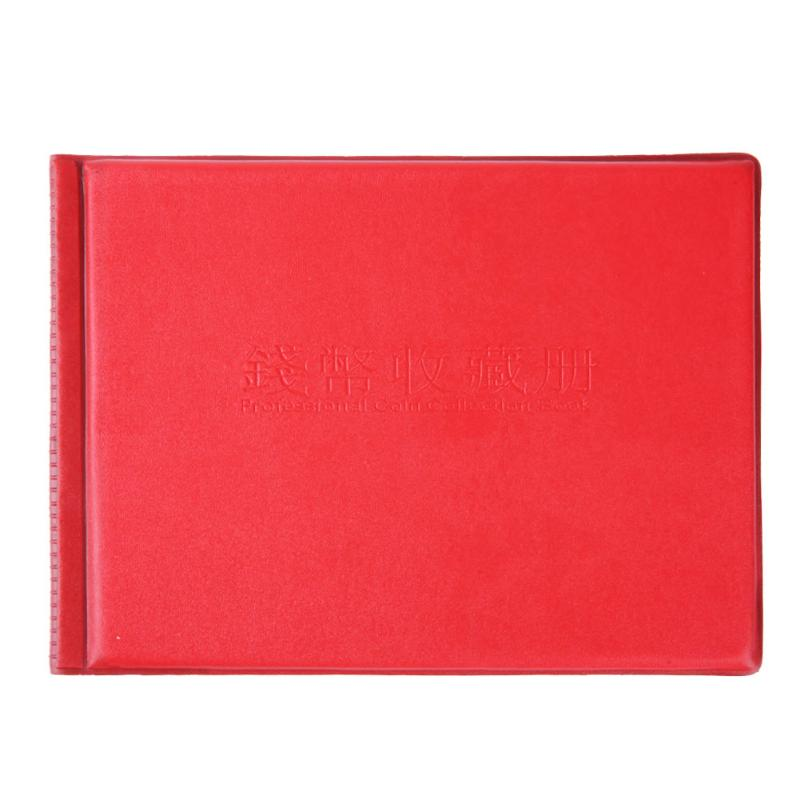Coin Album Gift 10 Page 180 Pockets World Coin Stock Collection Protection Book Collector Presents Supplies Banknote Album