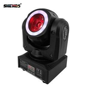 Image 2 - Luces LED de escenario con cabezal móvil, iluminación de efecto RGBW y DMX mixta para KTV profesional, DJ, discoteca, Club nocturno, 40W