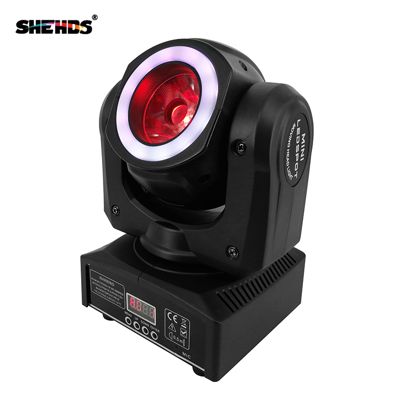 Image 2 - Mini LED 40W Moving Head Spot Beam Stage Lamps Effect Lighting RGBW & Mixed DMX For Professional KTV DJ Disco Bar Night Club-in Stage Lighting Effect from Lights & Lighting