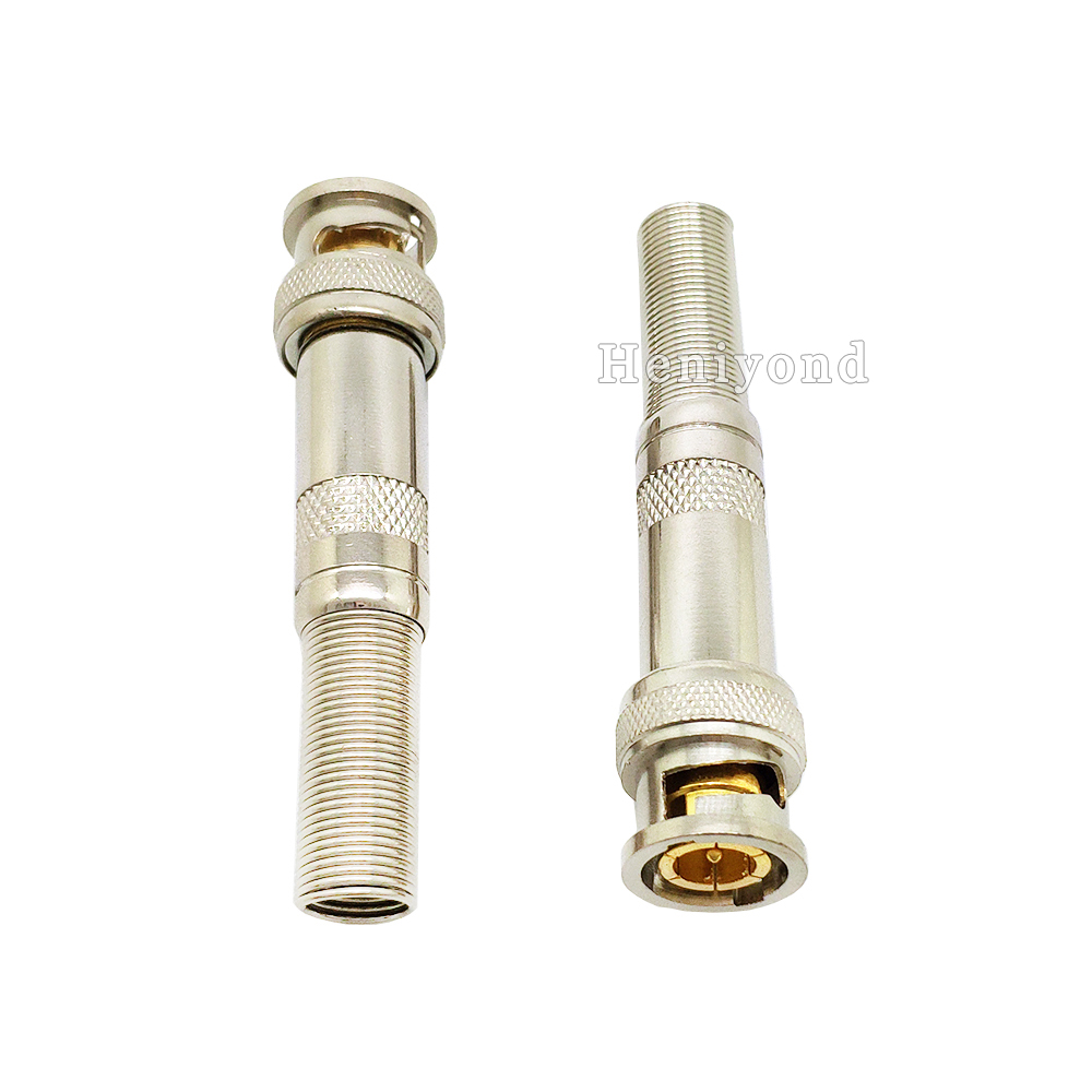 10 pcs CCTV RG59 BNC Coupler Male to Male Connector Lot Video Plug Adapter