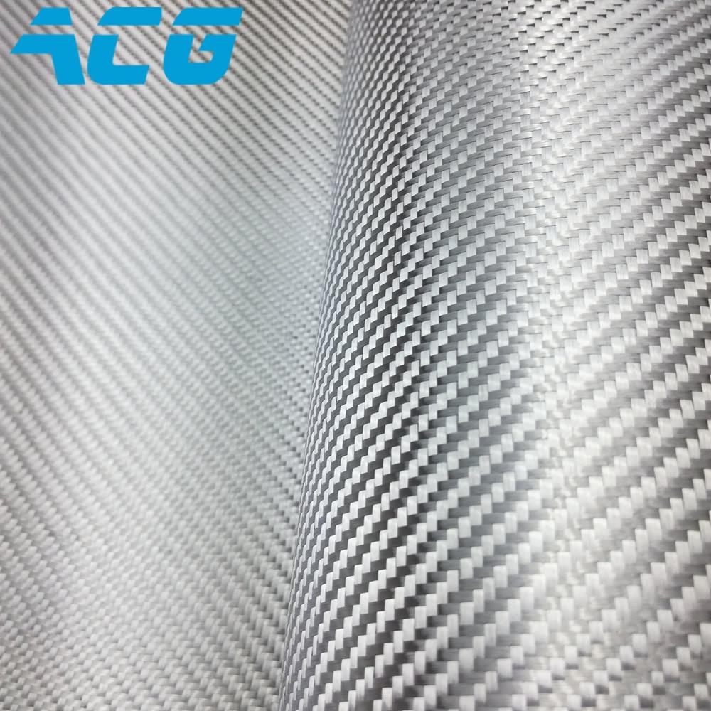 10 메터/몫 전기 도금 유리 섬유 실버 탄소 섬유 천-에서직물부터 홈 & 가든 의  그룹 1