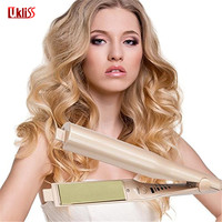 2018 Hair Straightener 2 In 1 Straightening Irons Curling Wand Hair Care Styling Tools Hair Accessories