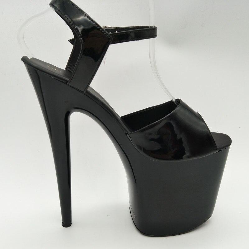 Black 1 Nouveau Bout Hauts blanc all 20 forme À Pointu Chaussures Laijianjinxia Talons Mode Femmes rouge Pouce Plate Haut clair Black Ouvert Sandales Cm 8 Stiletto De gd18wqA