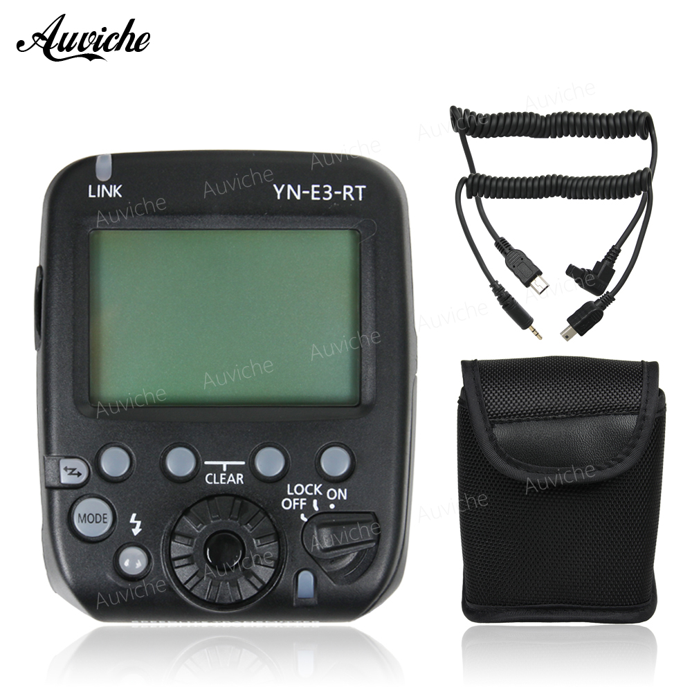 Yongnuo YN-E3-RT Flash Speedlite Wireless trigger transmitter TTL HSS for Canon camera& yongnuo YN600EX-RT Speedlite yongnuo yn e3 rt ttl radio trigger speedlite transmitter as st e3 rt compatible with yongnuo yn600ex rt