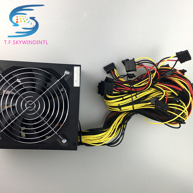1600W Power ATX 1600w pc power supply ATX Miner Power PSU ATX Mining Machine Support 6 Pieces Graphics Card GPU Miner Antminer  4