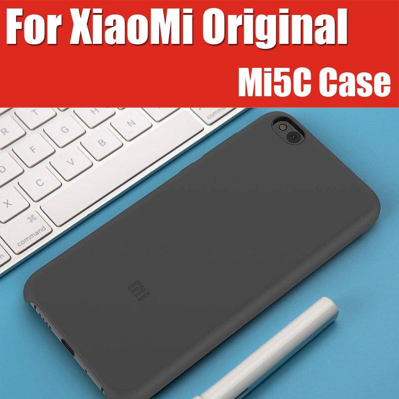 """imágenes para Original xiaomi mi5c case fibra de silicio + pc 5.15 """"piña s1 3 gb 64 gb para xiaomi mi teléfono 5c cubierta de garantía oficial"""