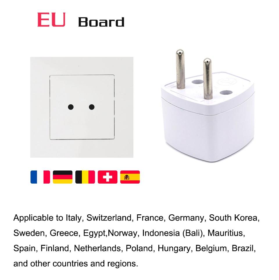 1PC Universal UK US AU EU AC Power Socket Plug Travel Electrical Charger Adapter Converter Japan China America Italy Switzerland (8)