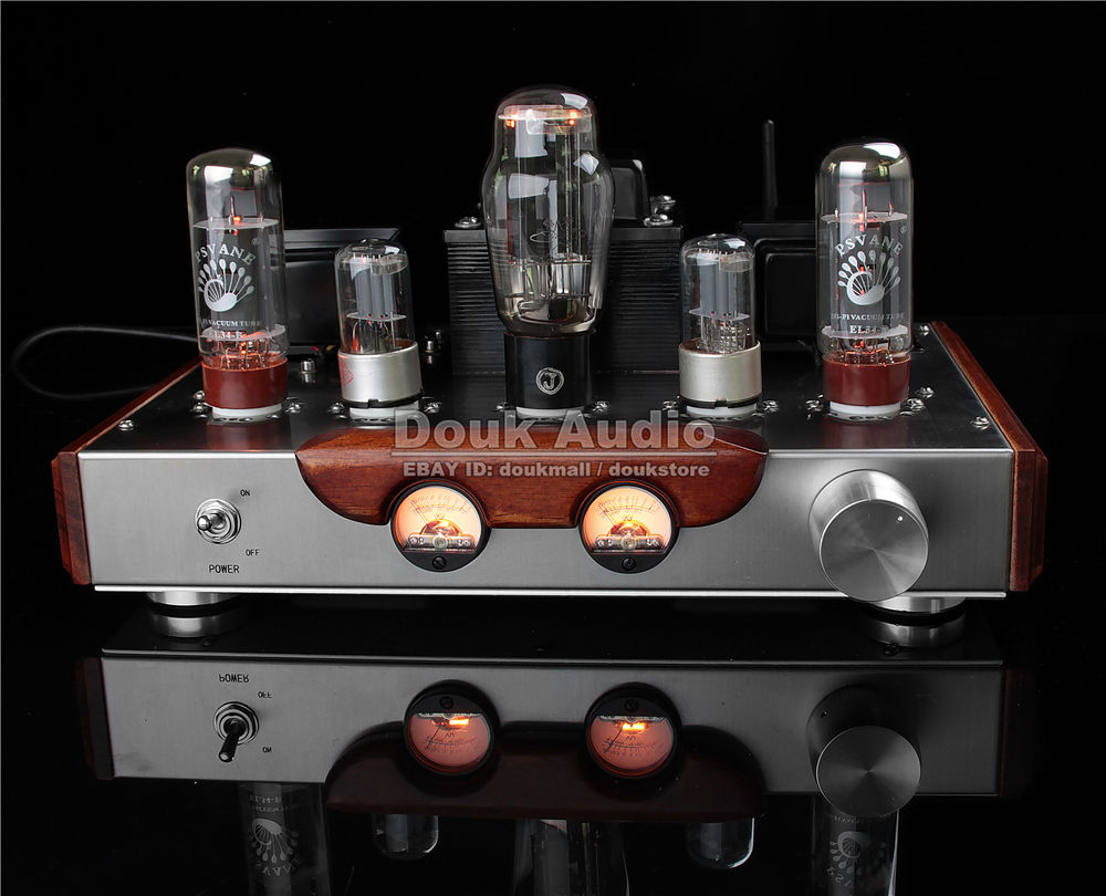 Douk Audio Bluetooth 4.0 PSVANE EL34 Vacuum Tube Amplifier Class A Single-ended Hi-Fi Valve Power Amp music hall pure handmade hi fi psvane 300b tube amplifier audio stereo dual channel single ended amp 8w 2 finished product