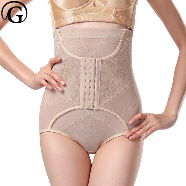 d4a42490235 PRAYGER Waist Trainer Women Butt Butty Lifter Slimming Belt shape wear  Control Panties Modeling Strap Mesh Panties Body Shaper