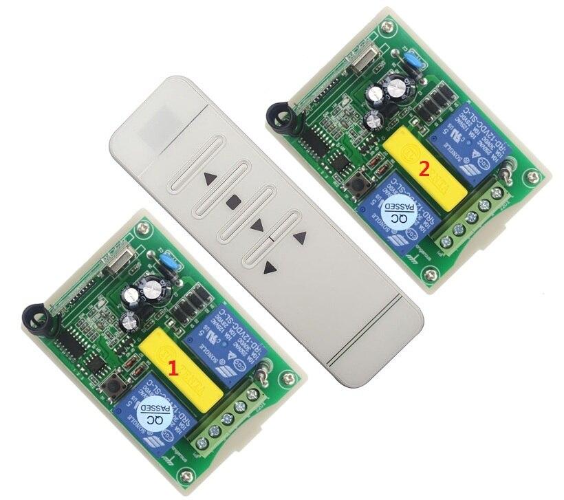 CENTURY AOKE AC 220V мотор двери гаража и проекционный экран и жалюзи RF беспроводной пульт дистанционного управления переключатель цифровой дисплей экранrf doorscreen switch220v wireless control switch  АлиЭкспресс