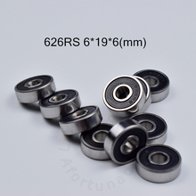 626 626RS 6*19*6(мм) 10 шт. Подшипник ABEC-5 подшипники резиновые герметичные мини подшипники 626 626RS хромированный стальной подшипник