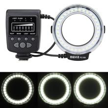 Meike FC100 Macro Ring Flash LED Light + SH21 for Sony RX100M2 RX1 RX1R A6000 A7 A7R A7S NEX-6 A3000 A99 A58 HX400 HX60 HX50