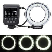 Meike FC100 LED Macro Ring Flash Photo Speedlite Light for Canon 5d mark II Nikon D3200 D3100 Dslr Camera
