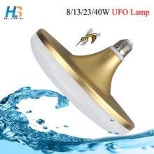 HBL UFO LED Bulb Light E27 8W 13W 23W 40W High Power waterproof LED Lamp Cold white AC 220v Lampara Ampoule Lampada Bombilla