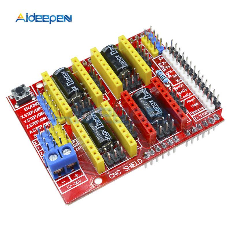 1 pièces CNC A4988 Carte D'extension De Bouclier V2.0 V3.0 V4.0 A4988 Conducteur Module Pour Arduino kit de bricolage 3D Imprimante Machine de Gravure