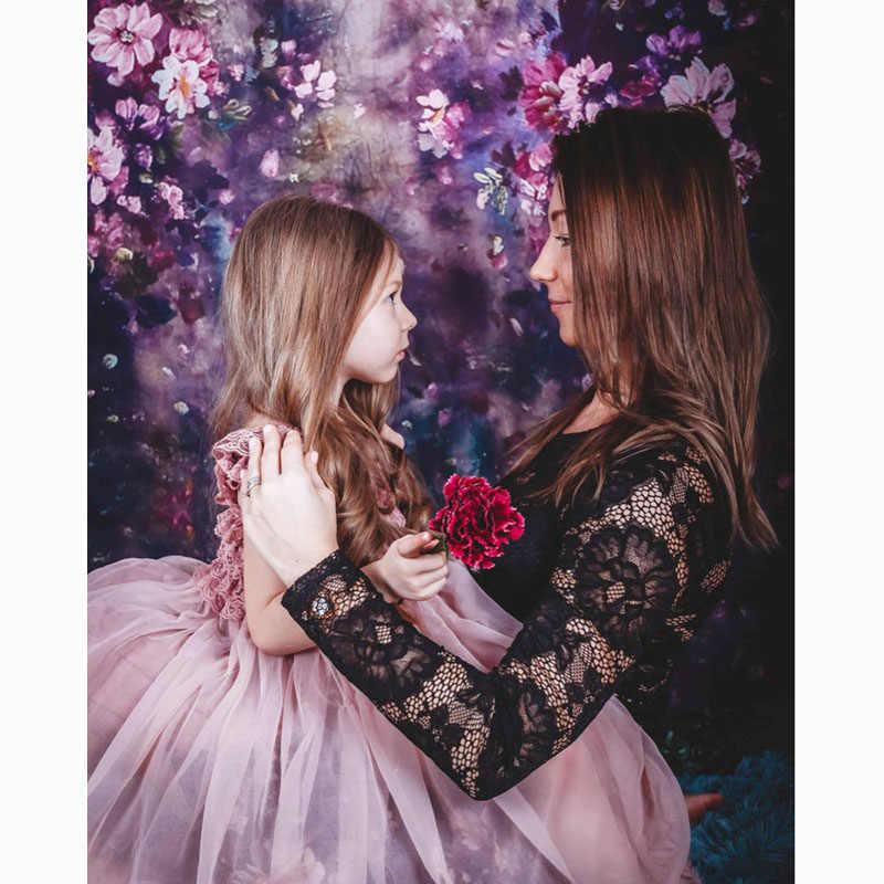 Kwiat fotografia tło ślub kwiatowy obraz w tle Photo Studio noworodek dziecko Photophone Photocall