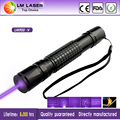 500mw Hot Sale 900 Violet  Laser Pointer Laser Torch With Charger Metal Packing Suitcase