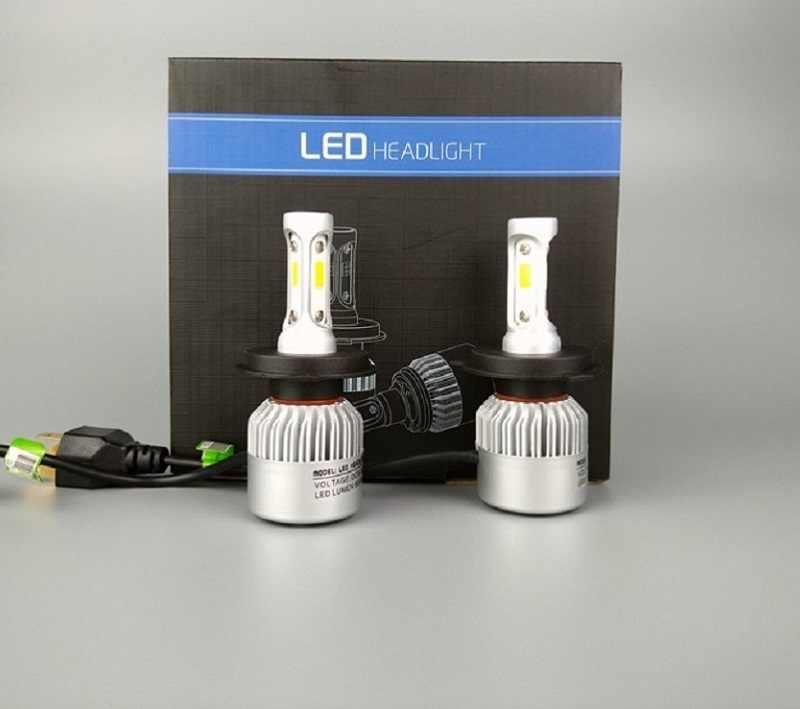 Shipping by DHL H4 LED H7 H11 H1 H13 H3 9004 9005 9006 9007 COB LED Car Headlight Bulb 72W 8000LM 6500K Auto Headlamp fog light