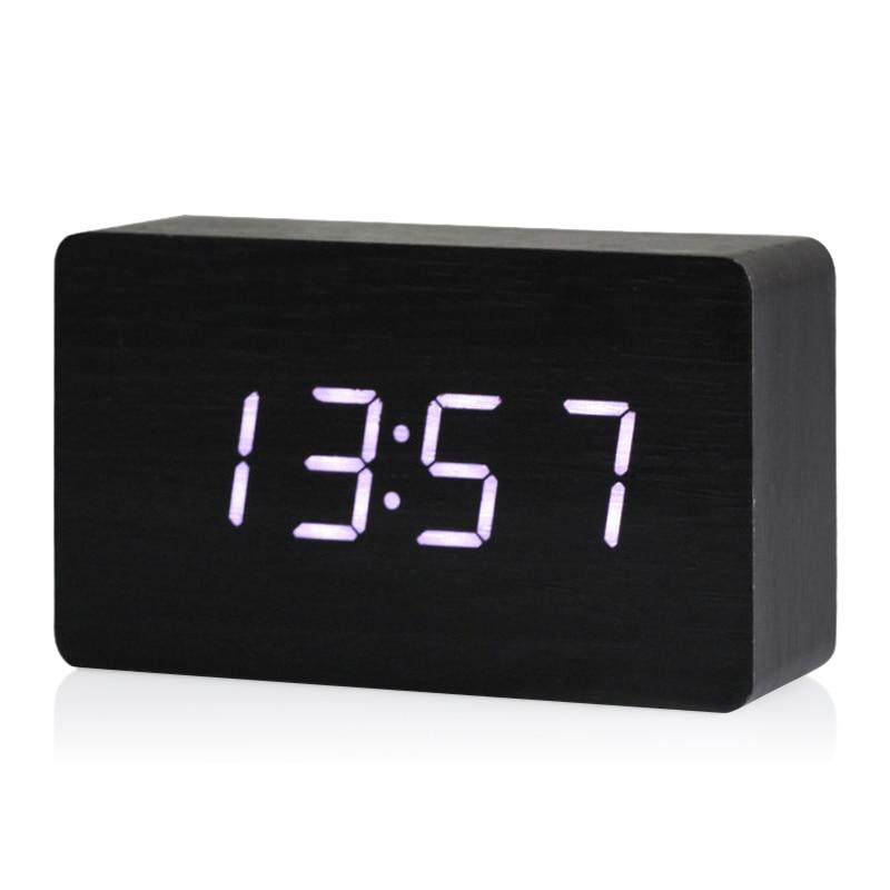 LED Wecker Digital Alarmwecker Wecker Uhr LED Mit Temperatur Anzeige Wetteruhr
