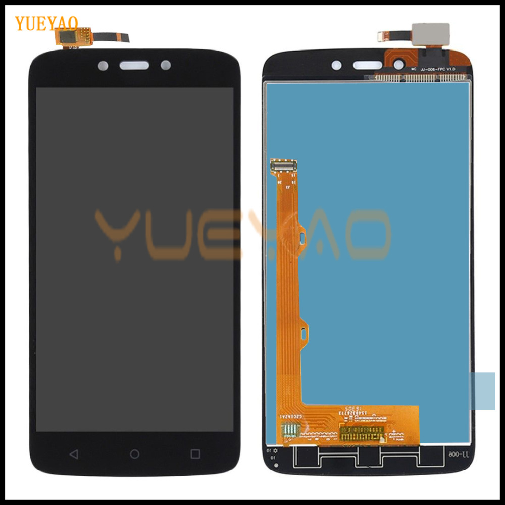 YUEYAO LCD Display For <font><b>Motorola</b></font> Moto C XT1750 <font><b>XT1754</b></font> XT1755 LCD <font><b>Screen</b></font> Display WIth Touch Glass Digitizer Assembly image