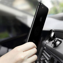 Universal Magnetic Car Phone Holder 360 Rotation Air Vent GPS Mobile Phone Car Holder Stand For Iphone 7 7 Plus 6 6s 5 Samsung
