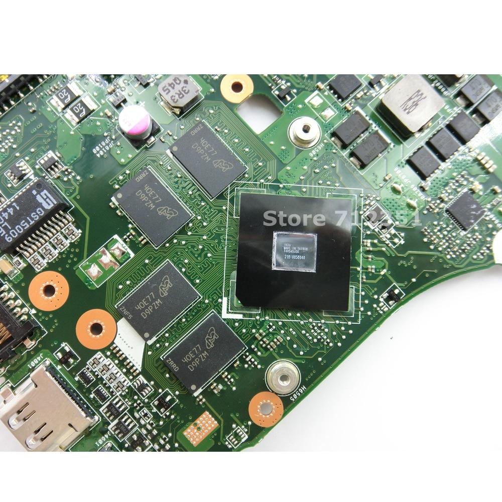Image 4 - X550ZE A10 7400 CPU V2G Mainboard For ASUS X550ZA X550Z VM590Z K550Z X555Z Laptop motherboard USB3.0 90NB06Y0 R00050 100% Tested-in Motherboards from Computer & Office