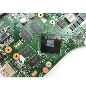 Image 4 - X550ZE A10 7400 CPU V2G anakart ASUS X550ZA X550Z VM590Z K550Z X555Z Laptop anakart USB3.0 90NB06Y0 R00050% 100% test