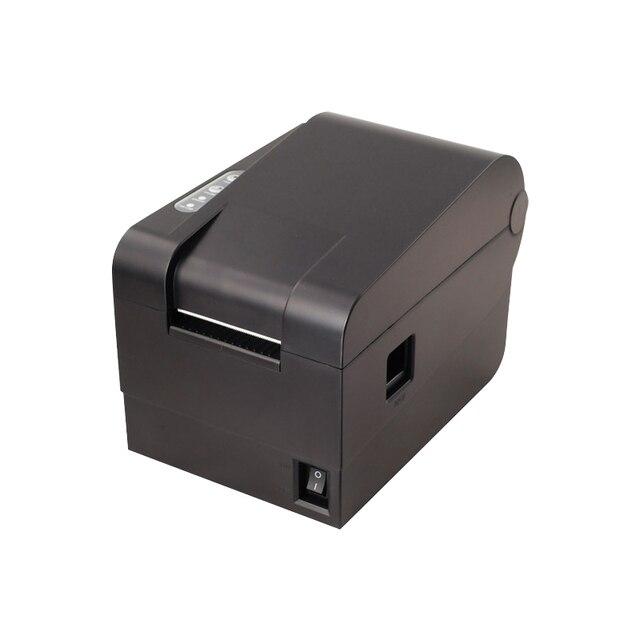 Новый прибытия высокого качества Xprinter XP-233B принтер штрих-кода наклейка принтер qr-код невысыхающая этикетки принтер