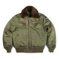 Bronson mans big USA / european size US air force B15A cotton wool jacket