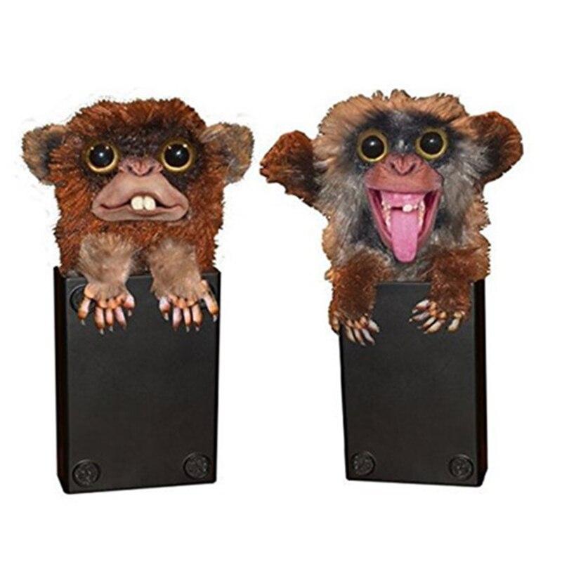 Finger Funny Monkey toys Pet Prankster Tricky Smile Halloween Novelty Toy for Children