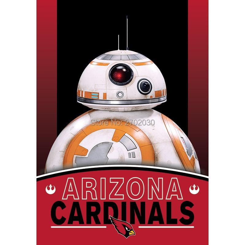 2pcs Arizona Cardinals Flag World Series Football Team 27 X 37 Inch Banner Vertical Super Bowl Arizona Cardinals Banner
