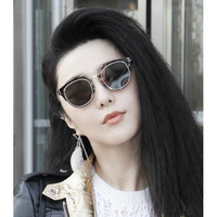 Fashion sunglasses sunglasses RETRO SUNGLASSES m nail trendsetter gemajing  L002