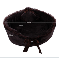 New Fashionable And Elegant Design Dog Beds For Small Dogs Winter Warm Pet Dog Pad House