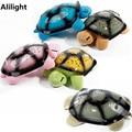 Musical Turtle Night Light Led Céu Estrela Novidade Noite Lâmpada Luz Da Lâmpada Do Sono Do Bebê Brinquedo das crianças Rosa Verde Amarelo Azul luminárias