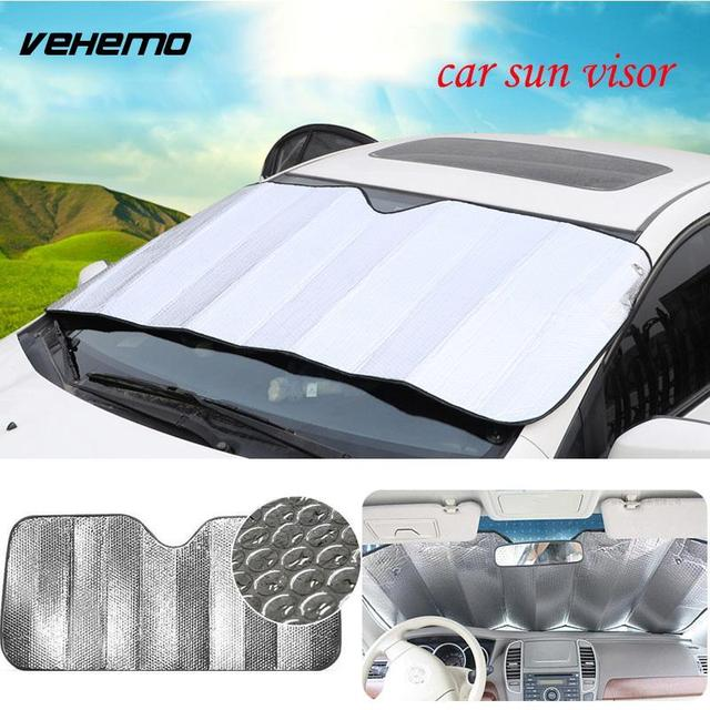 car shade cover	  Window Foils Sun Shade Cover Car Windshield Visor Car Cover Block ...