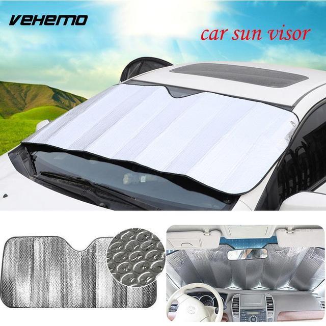 car shade cover  Window Foils Sun Shade Cover Car Windshield Visor Car Cover Block ...