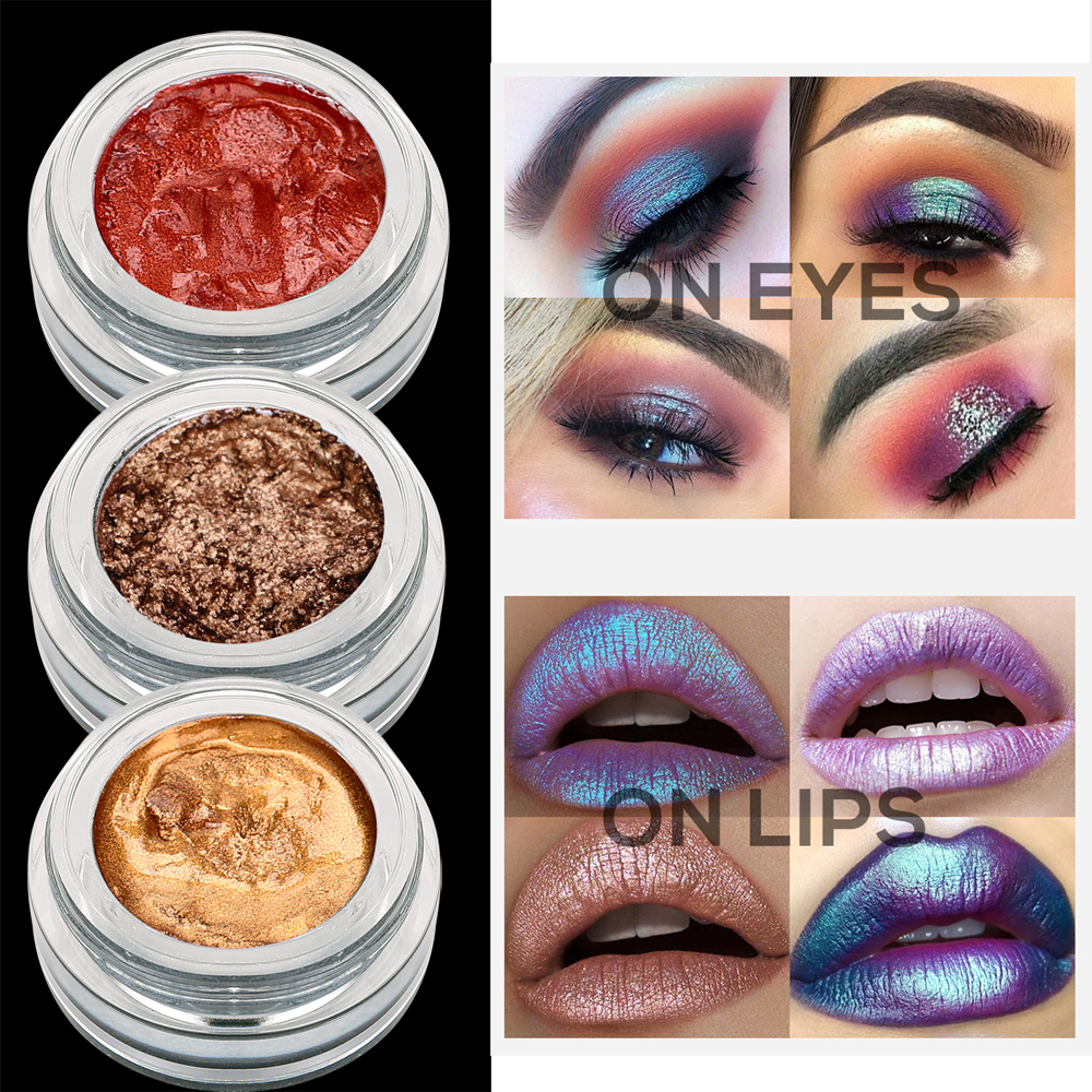 Beauty Essentials 2019 New Style 2019 Multicolor Glitter Eyeshadow Loose Powder Pigment Cosmetics Diamond Loose Lips Eyes Shining Makeup Women Beauty Makeup
