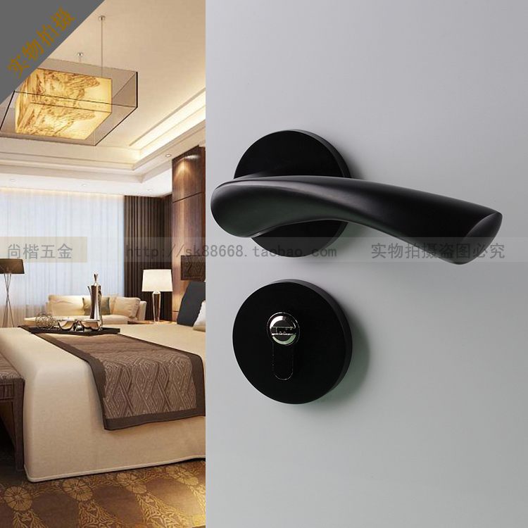 door handle locks continental bedroom lock black white perfect match