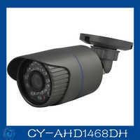 1/4 CMOS 24pcs led Waterproof aviation connector IP66 AHD 720P car cctv camera.CY-AHD1468DH