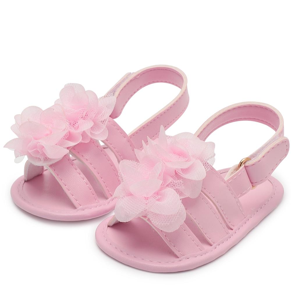 NEW Baby girl shoes Sandal PU Magic Tape toddler sh
