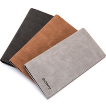 Wallet Purses Men's Wallets  Famous Brand Male Slim Men Long Wallets Thin Wallet Summer Style 2019