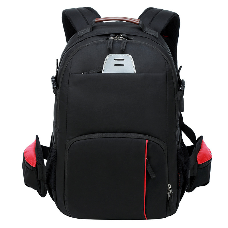 Image 2 - CAREELL  C3058 DSLR Camera Bag Backpack Universal Large Capacity Travel Camera Backpack For Canon/Nikon Camera 15.6 inch laptop-in Camera/Video Bags from Consumer Electronics