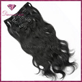 "Top Quality 1# Clip In Hair 10 Pcs/set Natural Wave 100% Maraysia Virgin Human Hair 8""-26"" Unprocessed Weavy Hair Extension"