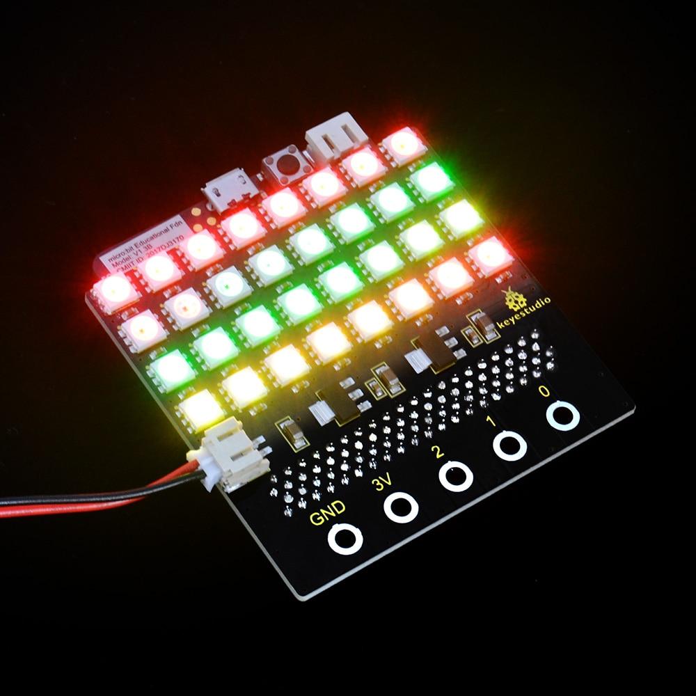 KS0315 micro bit SK6812 4X8 LED (7)