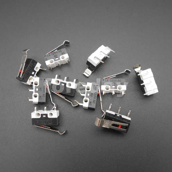 Taster Schalter 30 V,3 A Spdt Lot On 125 V On-