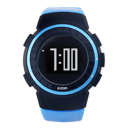 ezon watch T029 sports training waterproof digital smart outdoor running watch ezon outdoor sports for smart gps watches running male multifunctional 5atm waterproof electronic watch g1 black
